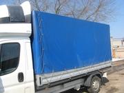 Тент для грузового микроавтобуса,  размер 385x205x180